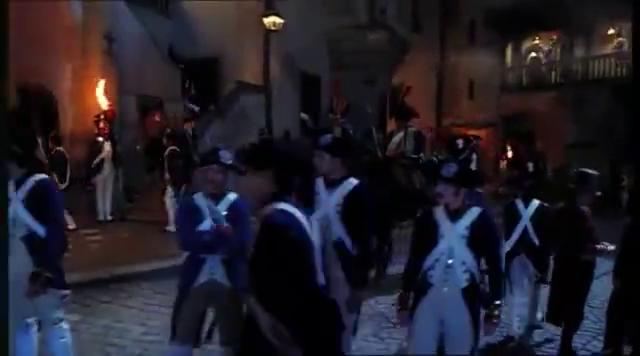 1795年,土伦港的国民军遭大炮在近距离发射散弹,死伤惨重