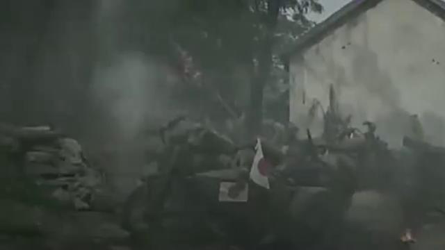 日本鬼子进入宋庄村,遭到八路军伏击,打的无还手之力