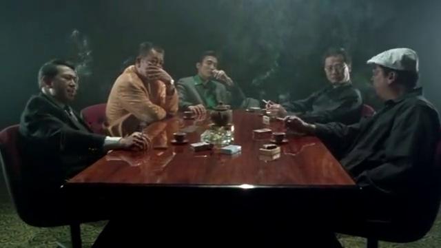 梁家辉找内鬼,发现基哥不说话便怀疑他,不料他一句话撇清了关系