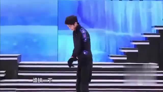孙艺洲:滑冰我是不会,但我会魔鬼的步伐