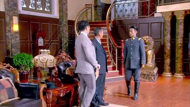 杜家父子上将军府交文件,打开却是一堆白纸,杜老爷生气撕掉