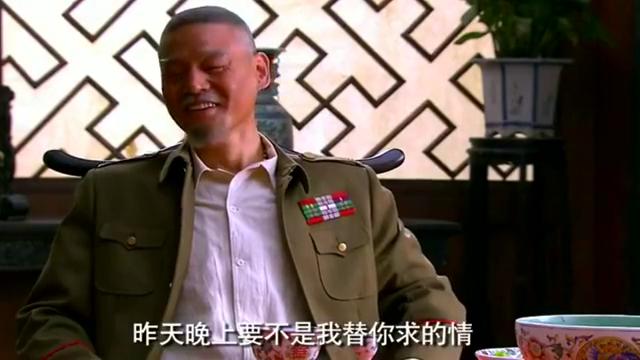 赵元庚责怪铁梨花,破坏他的好事,欲将解放军一网打尽