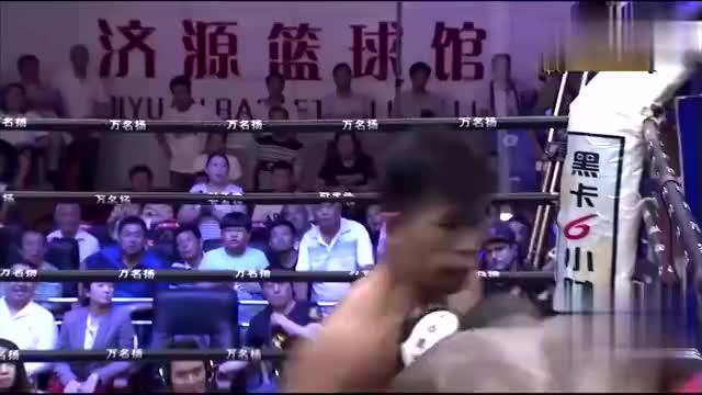 中外悍将重拳对攻比谁骨头硬,中国郭强铁拳击腹勾下巴KO黑人拳
