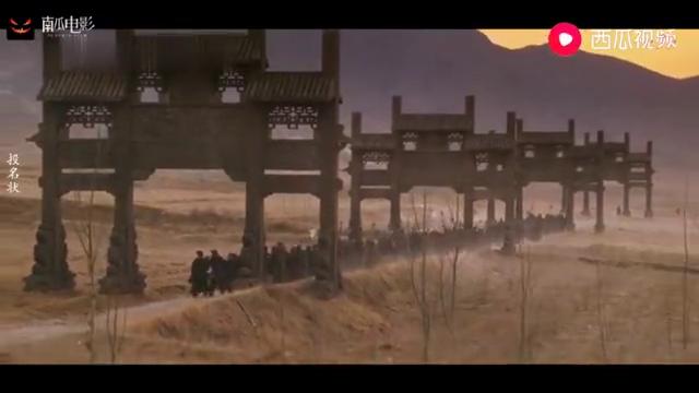 投名状:李连杰率众投靠清廷,番号山字营,随后竟霸气立下军令状