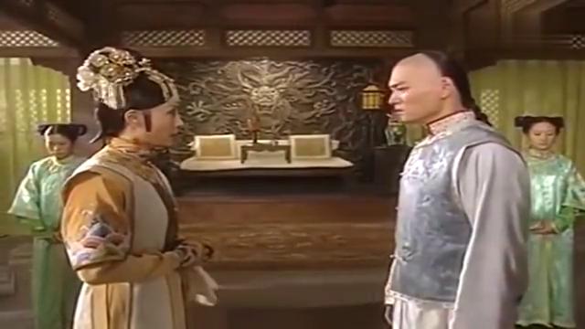 孝庄秘史:自己哥哥曾经的爱人要出嫁,立马出门问个清楚,真气人