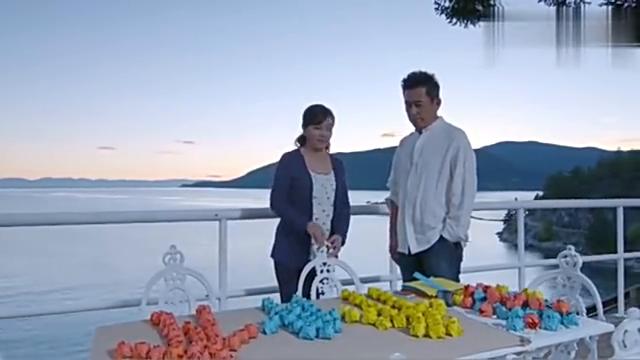 妻子在国外每天折叠纸花,总裁终于明白妻子日子