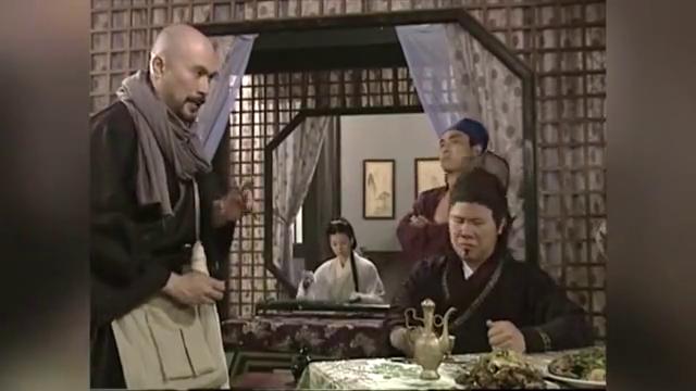 富贵公子要让蓉蓉陪酒,秦叔宝见状大打出手,却惨遭店家索赔