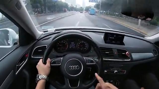 视频:体验一下奥迪Q3的底盘舒适度,25万买这样的底盘可有豪华质感?
