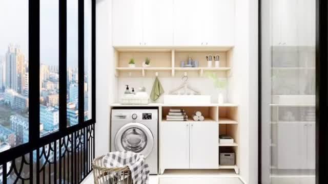 阳台不仅是晾衣服,试试这5种设计,直接多出一间房!