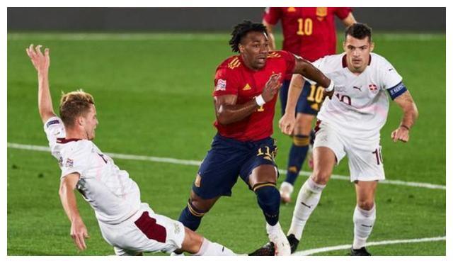 欧国联竞赛继续进行,在一场强强对话中,A等级D组的西班牙队对阵瑞士队