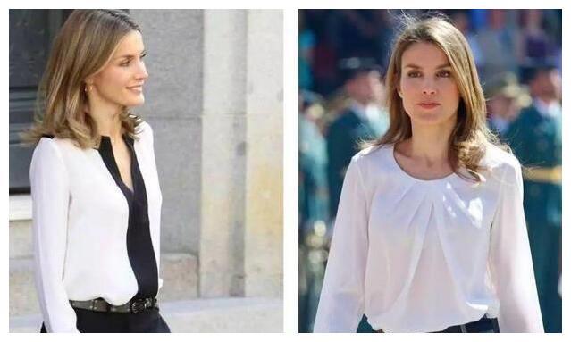 西班牙王后真会穿,早秋穿搭高级优雅还显瘦,每套都值得借鉴