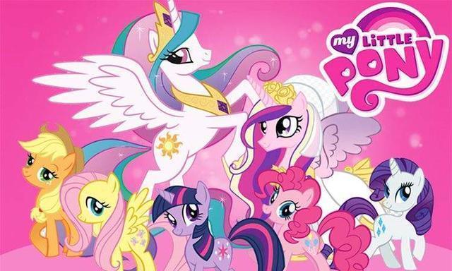 小马宝莉:四位马儿变身神圣天使,云宝造型炫酷,柔柔温柔美丽