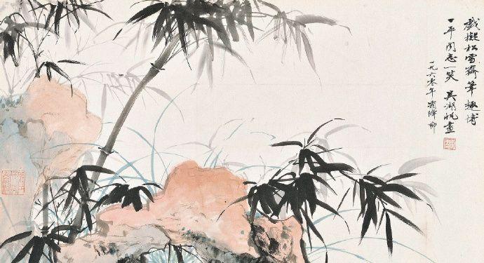 以雅腴灵秀、缜丽清逸的复合画风的吴湖帆花鸟欣赏