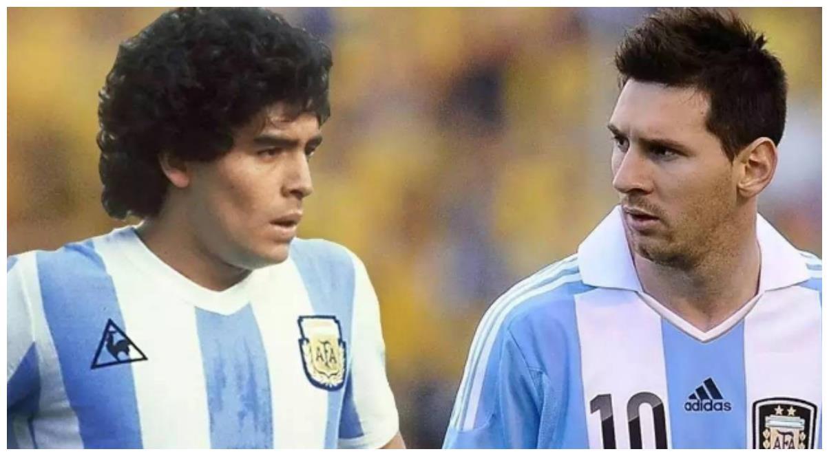 足球史上,马拉多纳和梅西谁实力更强,他们各自有哪些优势