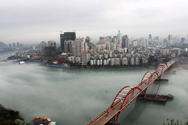 """广西的""""第二大城市"""",工业实力远超南宁,却仅是个三线城市"""