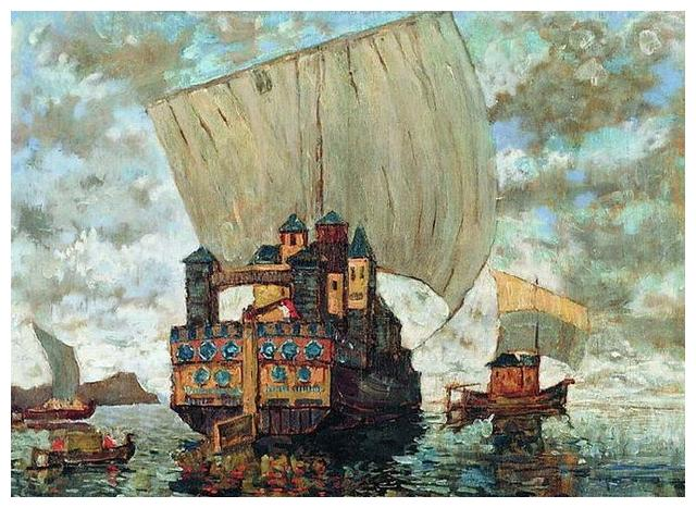 Konstantin Gorbatov 俄罗斯印象派画家