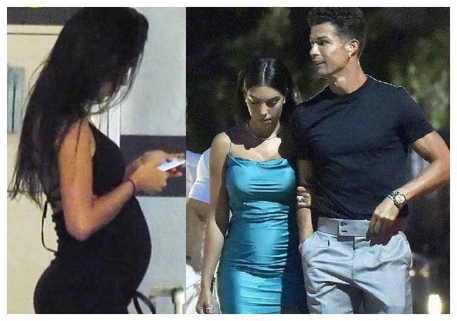 乔治娜小腹凸起,挽臂C罗,又怀孕?总裁承诺要生7个,还剩3子