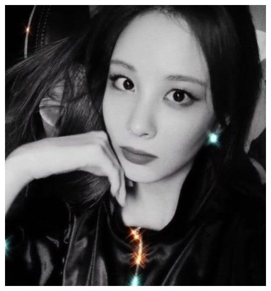 少女时代徐贤 INS 晒自拍视频,浓妆艳抹,变身性感猫女