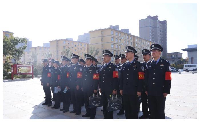 合阳县公安局反电诈宣传进万众小区(组图)
