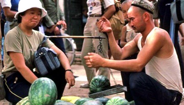 历史的印记,1983年的新疆吐鲁番老照片