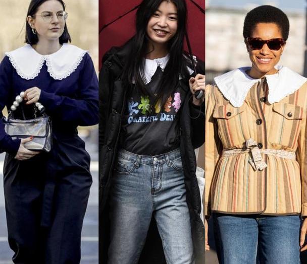 30+女性也想穿出甜美感?娃娃领的服装了解一下,轻松减龄十岁