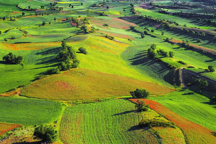 布拉克大草原以天为盖,以地为床这样的景色太美了。