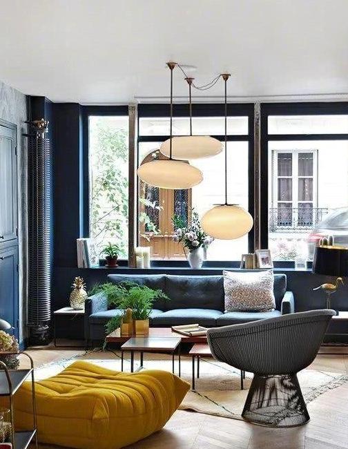 客厅这样设计,温馨舒适范儿足,新家就想照着装!