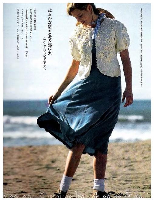 分享几十款女生夏季针织外套花样,流行而且时尚,附图解