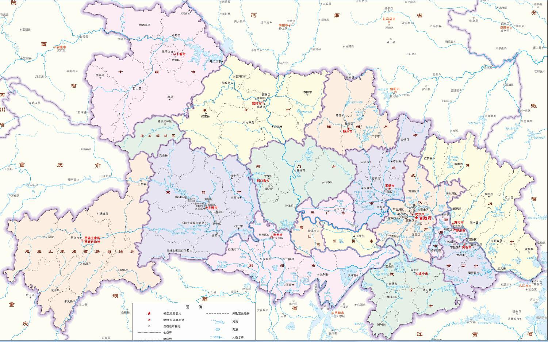 武汉八大城区领衔协作工程,湖北省103个区县市分五档发展