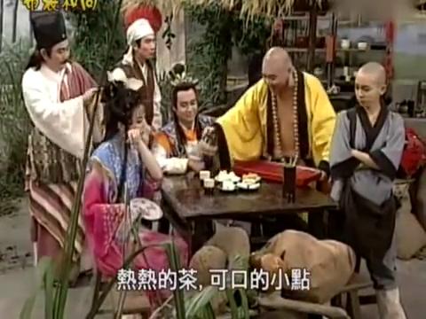 布袋和尚:弥勒佛在酒馆端盘子,遇到好色的皇帝,果然出事了!