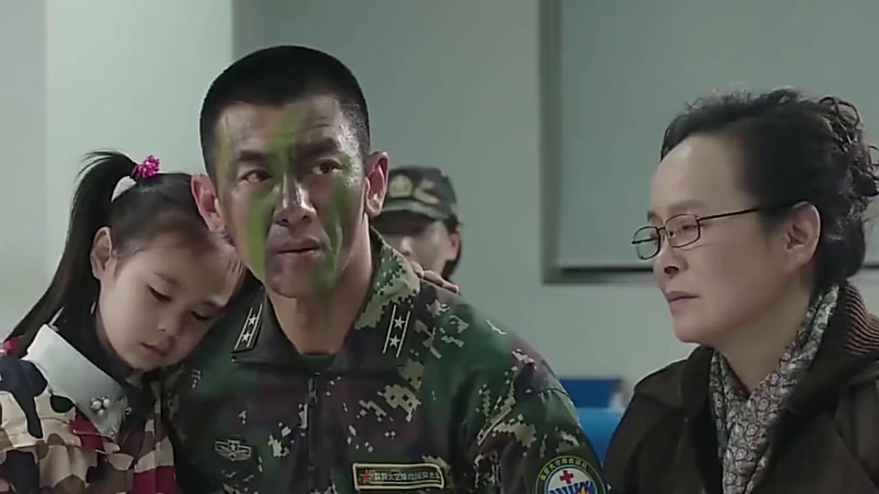 特种兵的父亲生病住院,部队首长亲自来看望,面子真大!