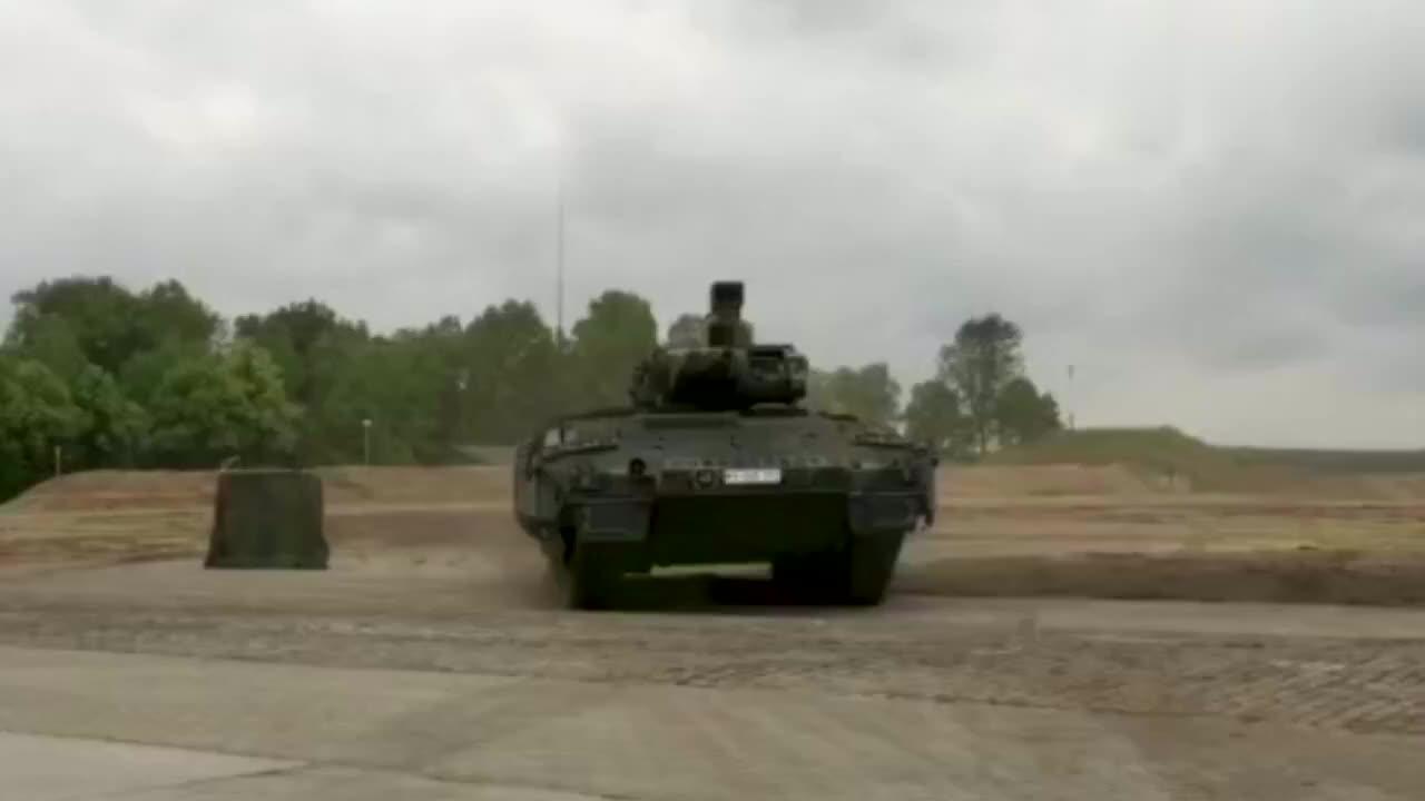 德国先进Puma IFV美洲豹步兵战车展示