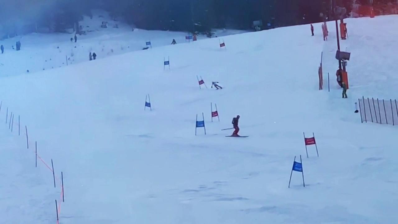 跨界跨项高山滑雪队训练中迎新年