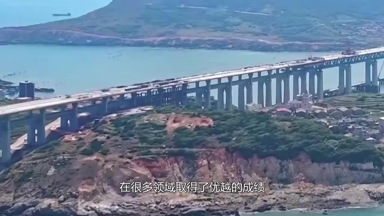 """中国又一工程,5个""""风火轮""""赶往台湾海峡,美国:不可能!"""