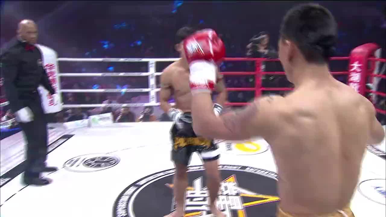 中国小伙实力太强,直接KO播求最有潜力的师弟!霸气十足