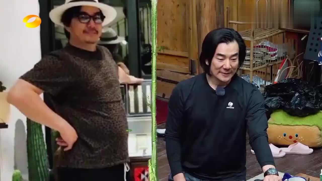 任贤齐讲述为拍戏减重17公斤,何炅面露狰狞:太恐怖了吧!