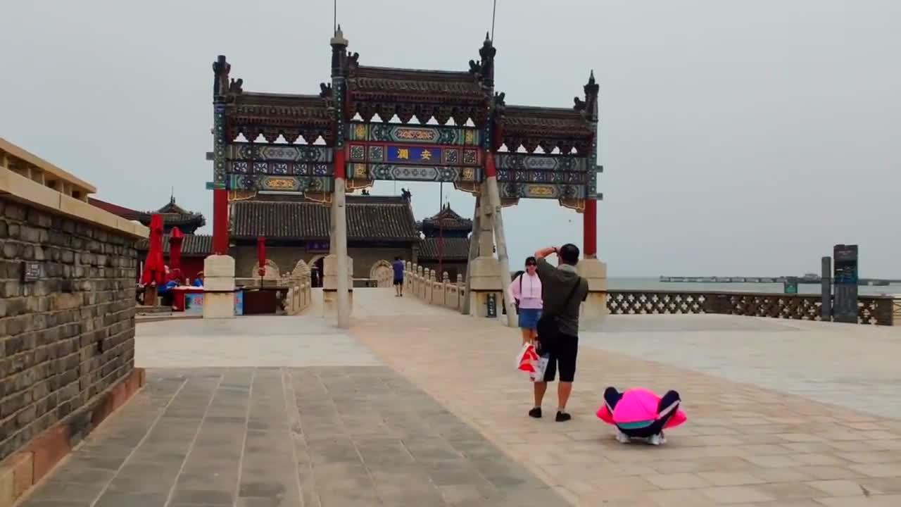 山海关老龙头海神庙,始建于明初通海运时期,一起去看看