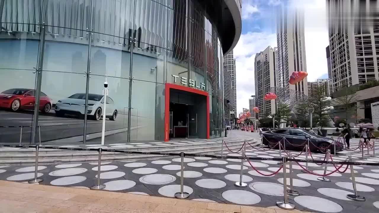 实拍深圳市中心,不愧为世界一线城市,太让人震撼了