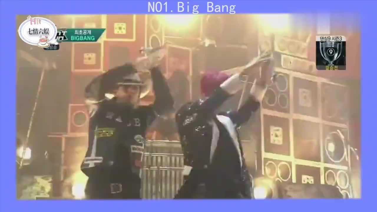 韩国超强实力男团大集合:BigBang真不愧是亚洲最强组合!