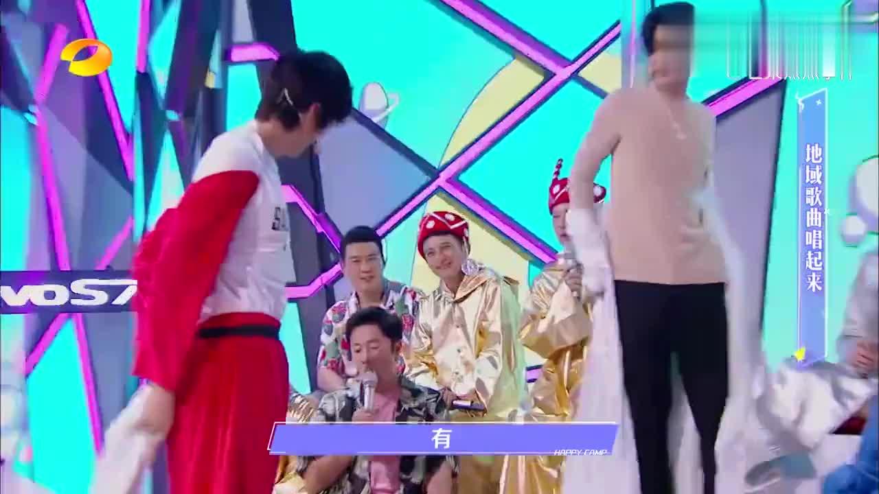 黄明昊小奶音翻唱《七里香》,却被张国伟抢镜,吴奇隆都没眼看!