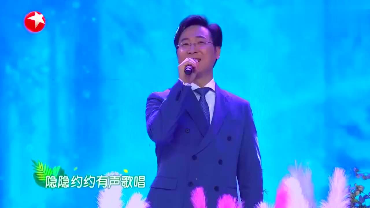 廖昌永与女儿同台合唱,不愧是歌唱家的孩子,基因太强大