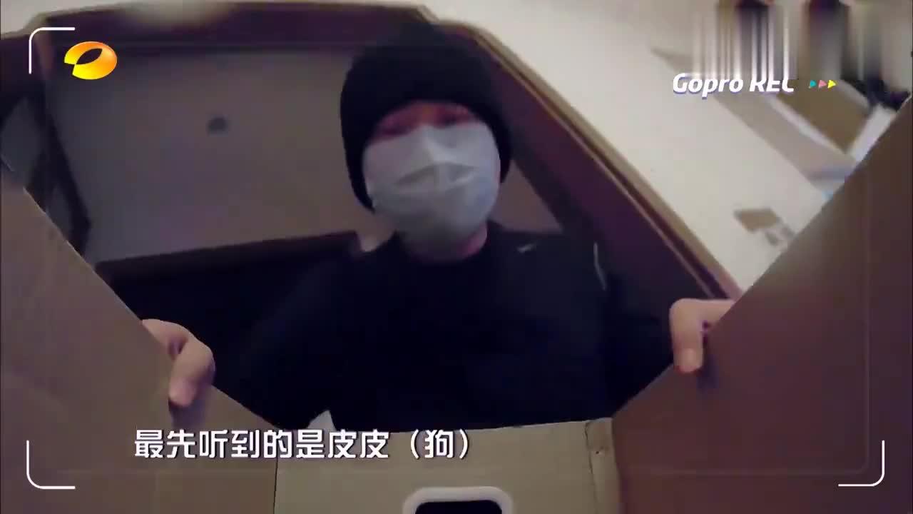 疫情期间,杜海涛和老妈进湖南台彩排,谁料消毒通道太魔幻!