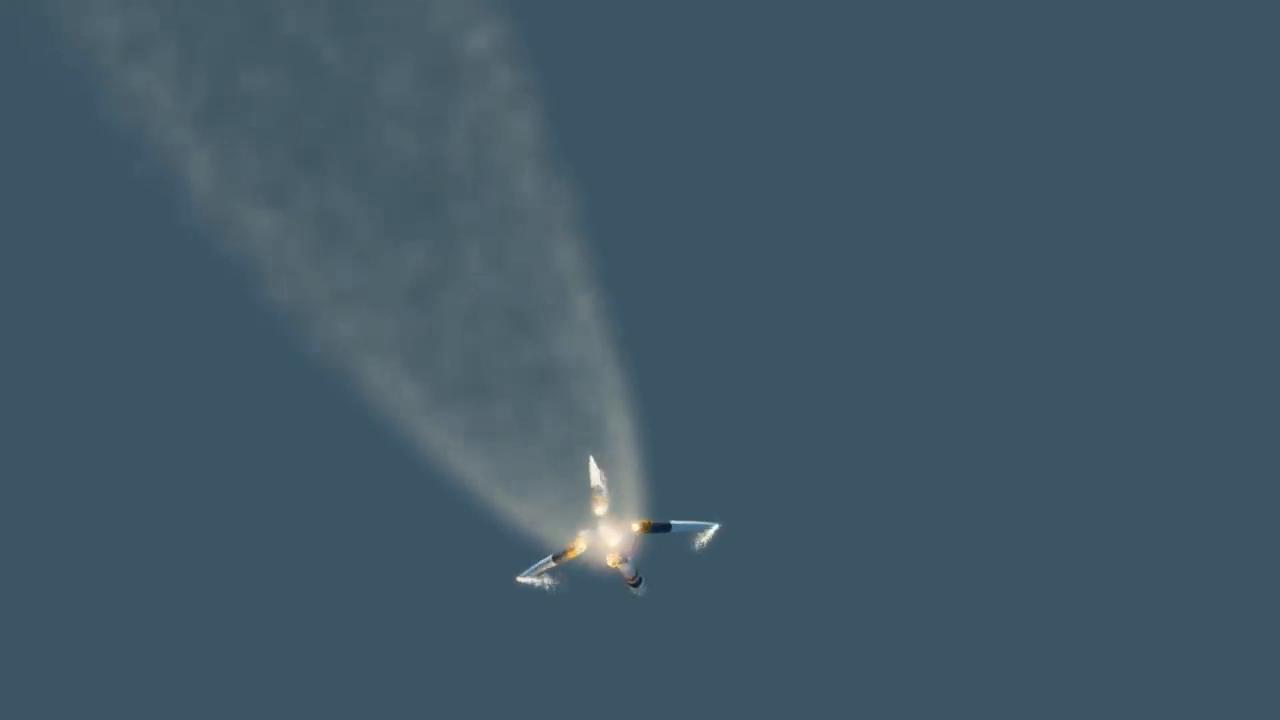 看!这就是联盟号火箭故障的模拟视频