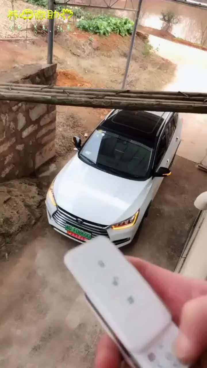 大家快来看新买的玩具车竟然会自动泊车