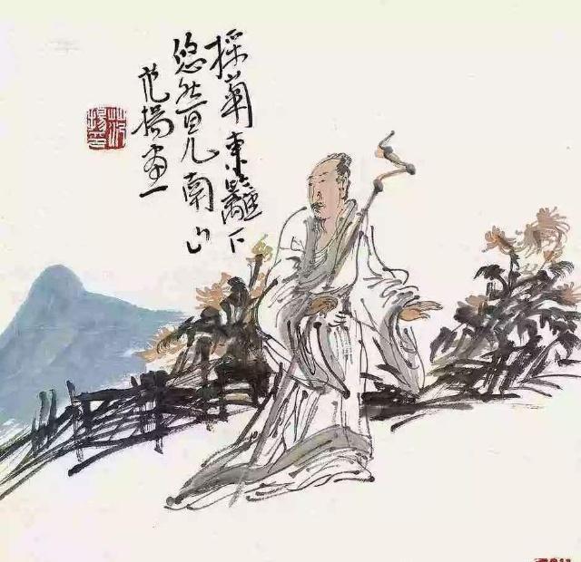 陶渊明很唯美的一首诗,句句经典,充满了人生的大智慧!