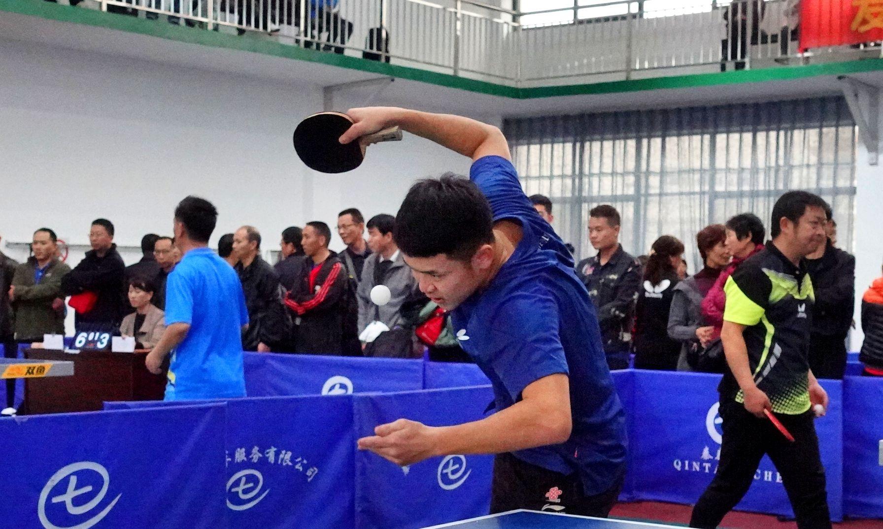 2020年魅力秦泰乒羽俱乐部乒乓球周年庆典赛精彩瞬间