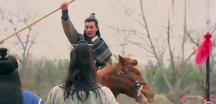 隋唐英雄:李元霸四明山救驾,面对当世天下第一,众人为秦琼担心