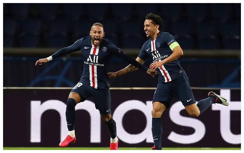 巴黎圣日耳曼2-0多特蒙德!总比分3-2晋级欧冠8强