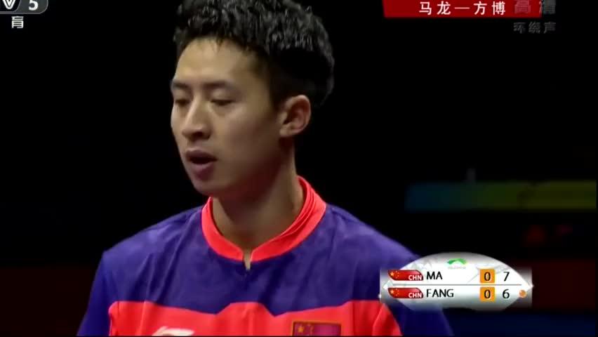内心太强大!从落后4分到反超4分,这就是乒乓球的艺术大师马龙