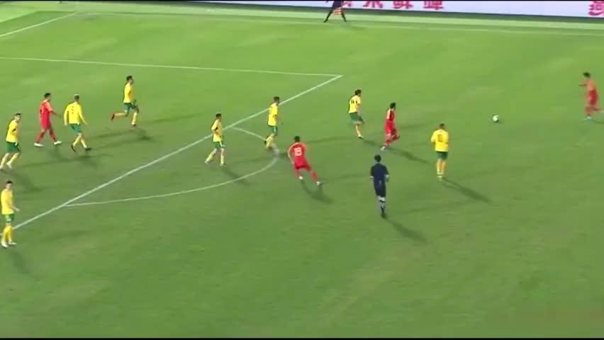 热身赛:U22国足1-0小胜立陶宛,胡靖航爆射&陈彬彬射失点球!